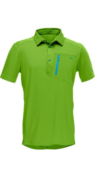 Norrøna M's Fjørå Equaliser Polo Shirt Norrona Green